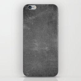 Rustic Chalkboard Background Texture iPhone Skin