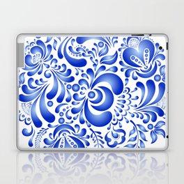 Gzhel pattern Laptop & iPad Skin
