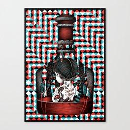Taste for poison Canvas Print