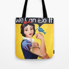 Rosie the Riveter, We Can Do It Tote Bag