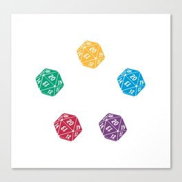 Mana Spin-downs Canvas Print