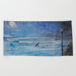 Shallow water Beach Towel