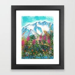 Alyeska Best of Both Framed Art Print