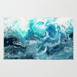 Green Wave #1 Rug