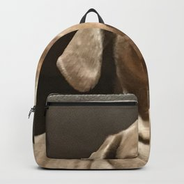 Blank Stare Backpack