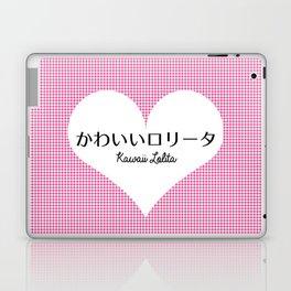 Japanese Kawaii Lolita - Big Heart Laptop & iPad Skin