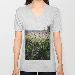 Island Lavender Unisex V-Neck