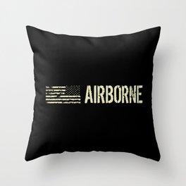 Black Flag: Airborne Throw Pillow