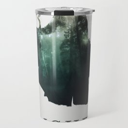 Lich (Typography) Travel Mug