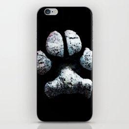 Dog Paw Print Pop Art Animal Lovers - South Paw iPhone Skin