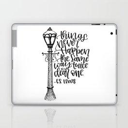 Narnia Lamppost Laptop & iPad Skin