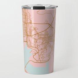 Busan map, South Korea Travel Mug