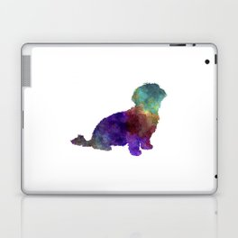 Havanese in watercolor Laptop & iPad Skin