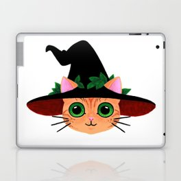 Witch hat cat Laptop & iPad Skin