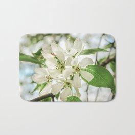the Apple blossoms Bath Mat