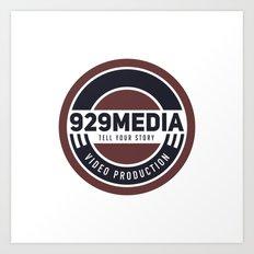 929 Media Art Print