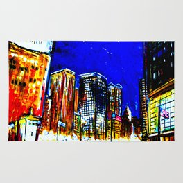Chicago Nights Downtown Rug