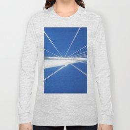 White Suspension Long Sleeve T-shirt