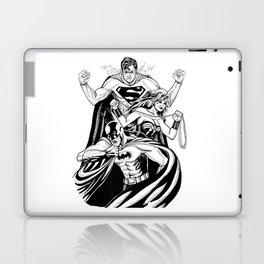 Justice League Trinity: The Caped Crusader, Diana Prince, Superman Laptop & iPad Skin