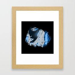 Marron Framed Art Print