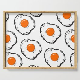 Fried eggs Serving Tray