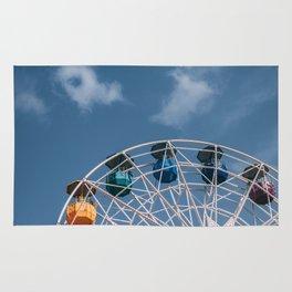 Colourful Ferry Wheel Rug