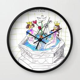 Rosarium Philosophorum  Wall Clock