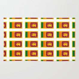 flag of sri lanka- ශ්රී ලංකා,இலங்கை, ceylon,Sri Lankan,Sinhalese,Sinhala,Colombo. Rug