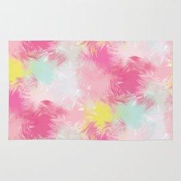 Blurred Blend - Pink Rug