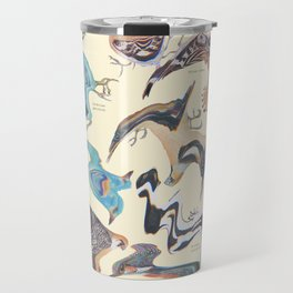 Skewed Birds Travel Mug