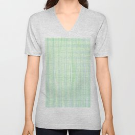 Looks like water droplet when you see from afar falling down the stripy background Unisex V-Neck
