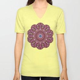 Floral Core Unisex V-Neck