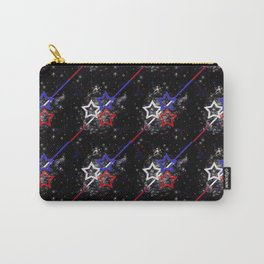 Stars and Stripes Pattern Carry-All Pouch