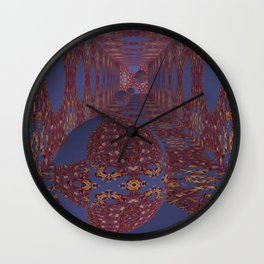 Radically Sequential 3D Pattern Wall Clock