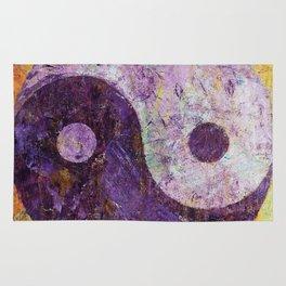 Purple Yin Yang Rug