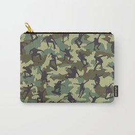 Skater Camo WOODLAND Carry-All Pouch