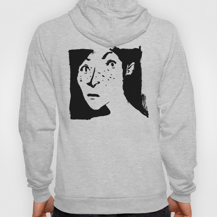 Women portrait Hoody