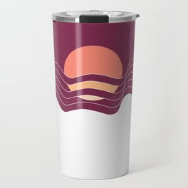 Sunrise in the Mountains Travel Mug