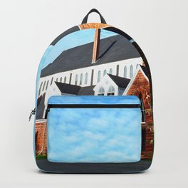 St. Paul's Church Sturgeon PEI Backpack