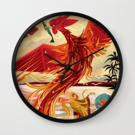 Sarimanok Wall Clock