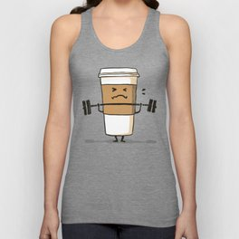 Strong Coffee Unisex Tank Top