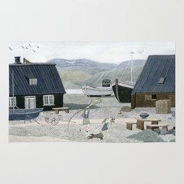 North Fishing Village Rug