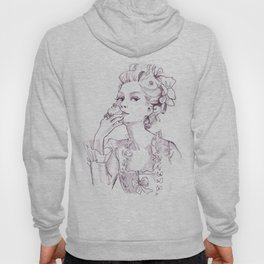 Marie Antoinette - Pen/Ink Hoody
