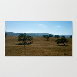 Solvang Mountains Canvas Print