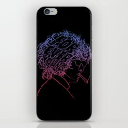 Bob Dylan Forever Young iPhone Skin