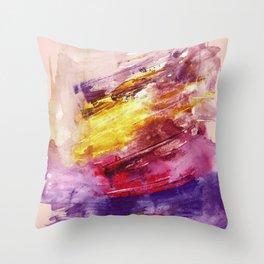 Blushed Throw Pillow