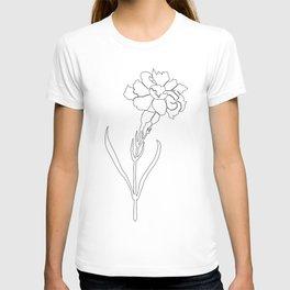 Carnation Lines T-shirt