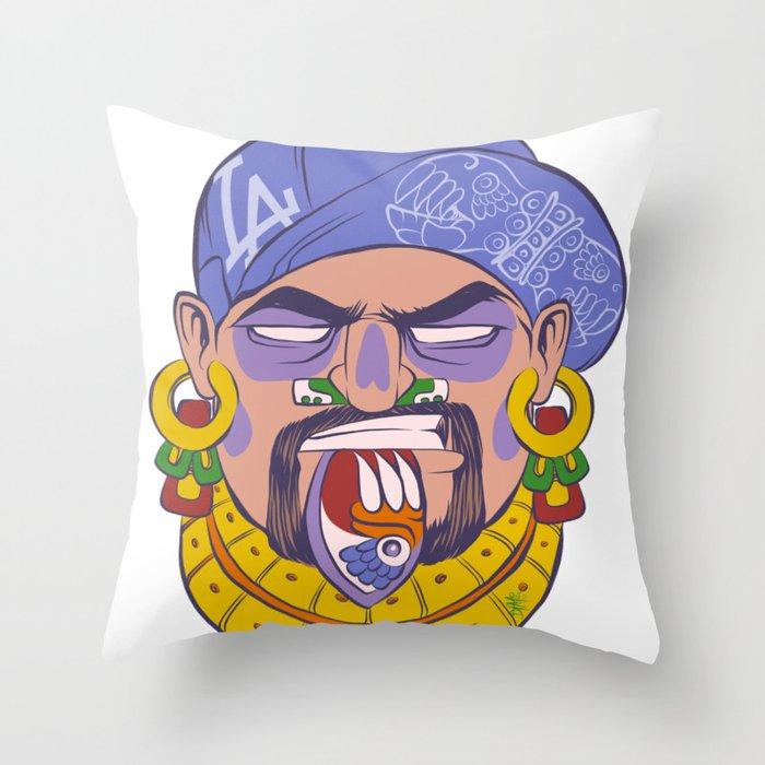 DTM Azteca Throw Pillow
