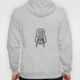 Post Modern Watercolor Chairs Hoody