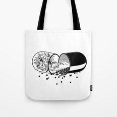 Sleep Forever Tote Bag